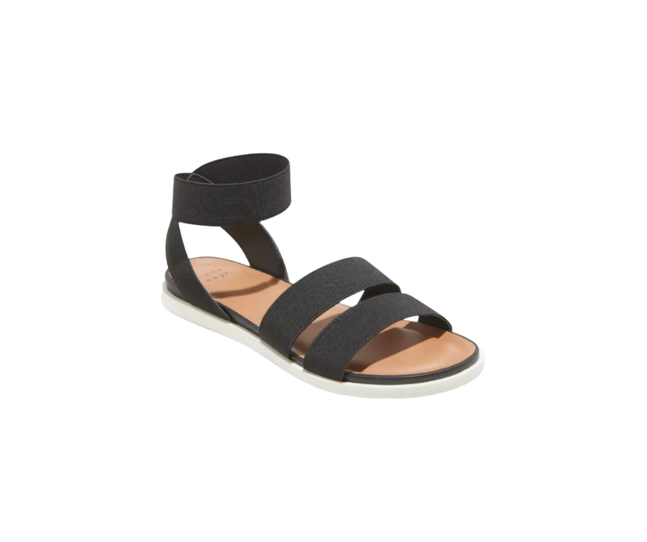 A New Day Women's Esme Elastic Ankle Strap Sandals