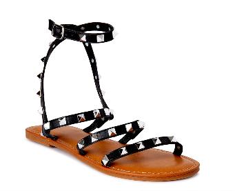 Time and Tru Women's Studded Gladiator Sandal, Steve Madden Dupe